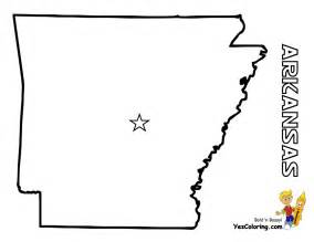 Arkansas State Outline Map by Free Map Of Each State Alabama Maryland State Maps Map Coloring Pages