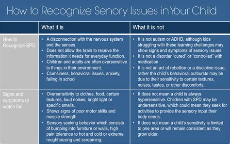sensory based motor disorder how to recognize a sensory processing disorder in your