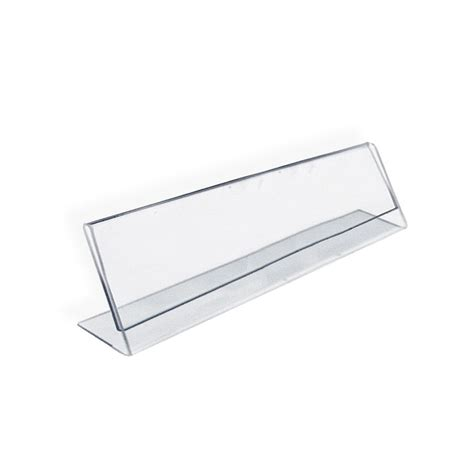 desk name plate holder whitevan