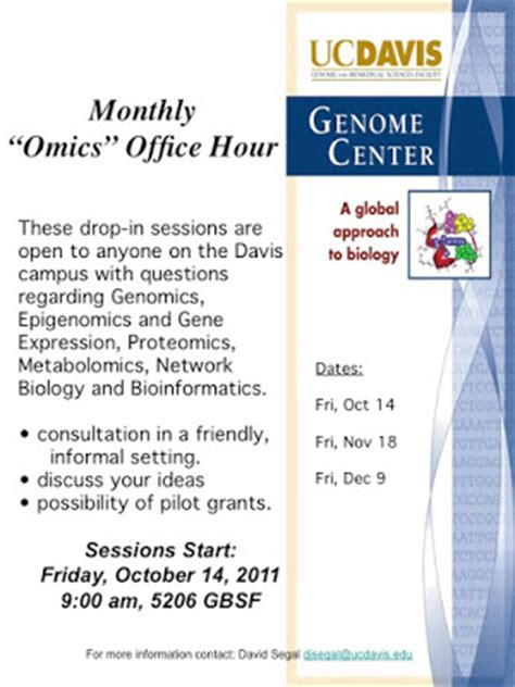 Davis Post Office Hours by The Tree Of Ucdavis Genome Center Omics Office Hours