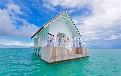 maldives wedding glass aisle overwater wedding pavilion with glass aisle opens in