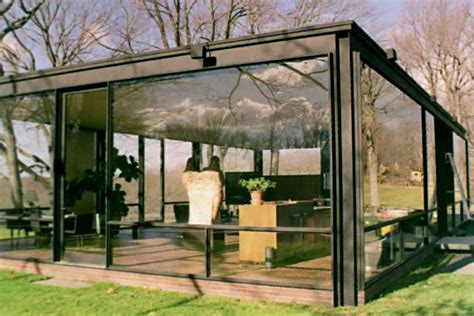 glass house ct 20th century architecture philip johnson