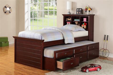 w bed f9220 cat 18 p120 twin bed w trundle mw f4234 5