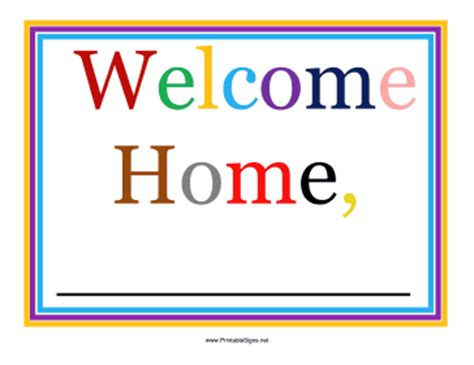 printable airport welcome sign sign