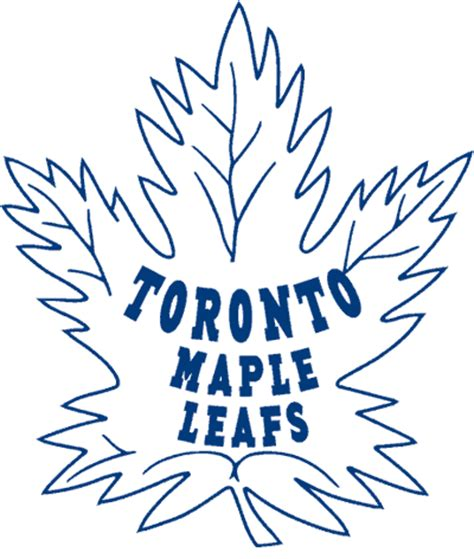 Leaf Logo History Toronto Maple Leafs Coloring Pages
