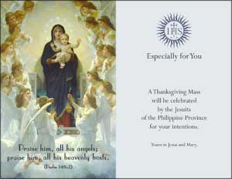 mass card template e mass cards philippine jesuits