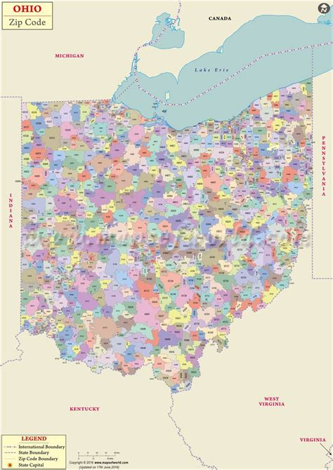 ohio zip code map zip code map ohio world map 07
