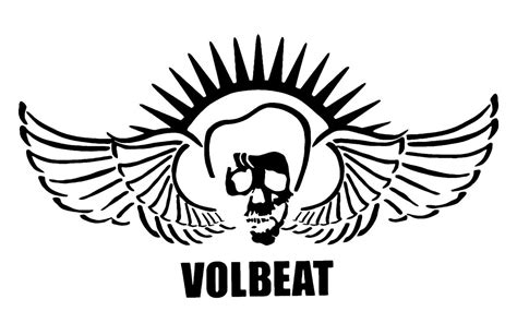 Volbeat Aufkleber Auto by Volbeat 11 Quot Sticker Decal Skull Wings Choose Color
