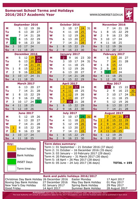 Calendar King School Calendar King Arthurs Community School