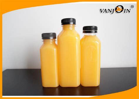 Milk Fruit Bottle Plastic 400ml 250ml 350ml 500ml square plastic juice bottles with lids pet milk bottle