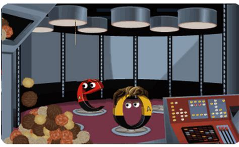 doodle for trek on trek s 46th anniversary celebrates with