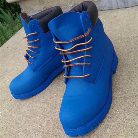 tims boots for shoes timberlands timberland boots gold chain blue