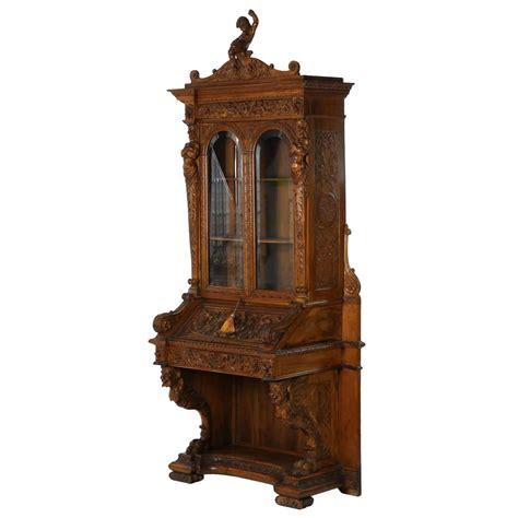 pictures of antique secretary antique drop front secretary desk with bookcase antique