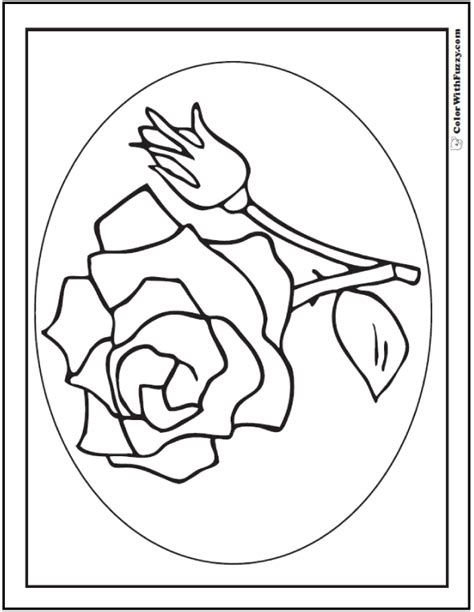 rose coloring pages pdf 73 rose coloring pages customize pdf printables
