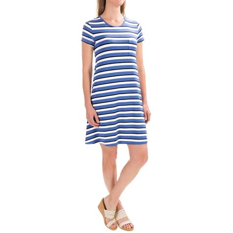 Striped T Shirt Dress antibes blanc striped t shirt dress for save 30