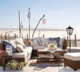 Beach Patio Furniture by Outdoor Garden Furniture By Pottery Barn