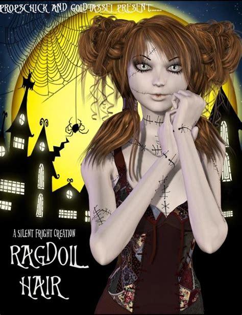 rag doll hair rag doll hair 187 daz3d and poses stuffs free
