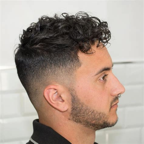 fades for curly hair curly hair fade haircut hairs picture gallery