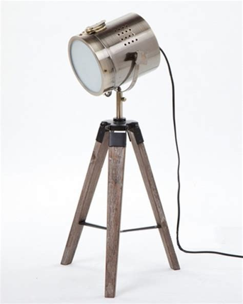 Vintage Wooden Floor Lamps by Contemporary Tripod Camera Table Lamp Interior Light