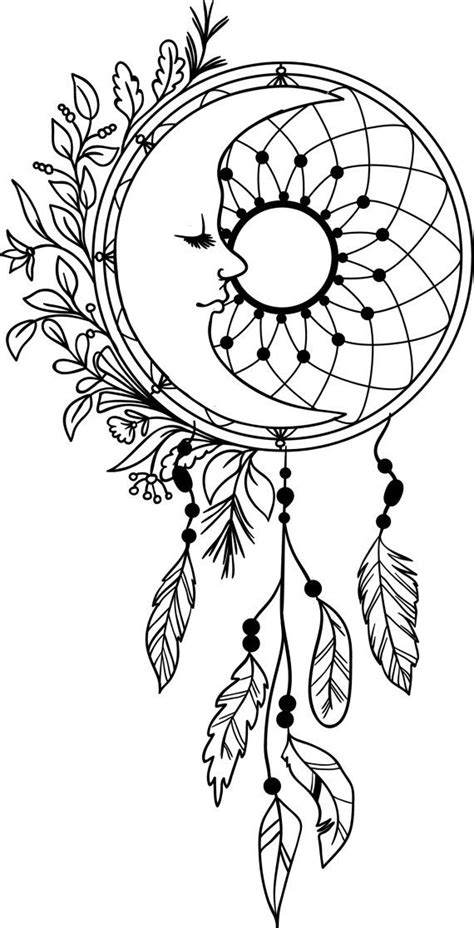 coloring sheets dream catchers de 134 b 228 sta dreamcatcher coloring pages for adults