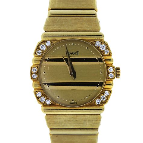 piaget polo 861c701 18k yellow gold