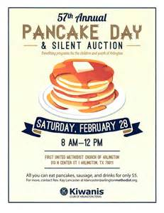 pancake breakfast ticket template st alban s episcopal church bulletin board