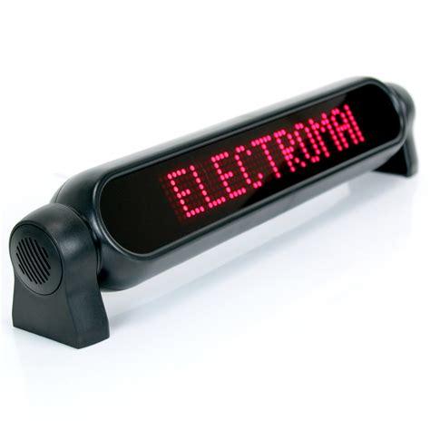 programmable led scrolling messenger machine light ebay