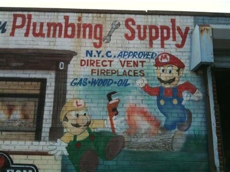 Brothers Plumbing Supply by The Mario Bros Move To Bensonhurst Kotaku Australia