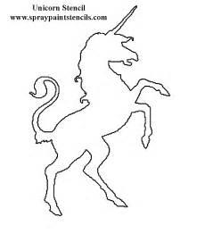 unicorn template stencils page 2