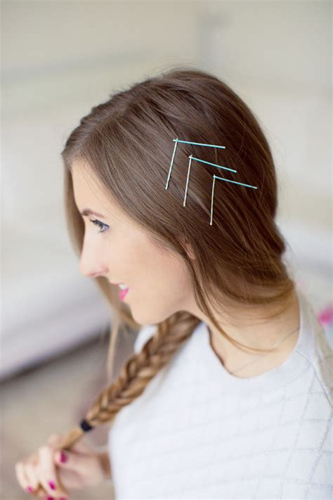 Simple Bobby Pin Hairstyles by Give Your Simple Hairstyle Wow Factor With Bobby Pins