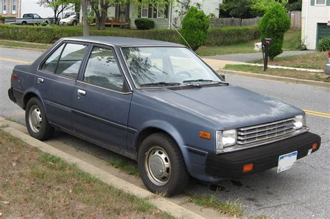 old nissan sentra curbside classic 1983 86 nissan pulsar nx staying sharp