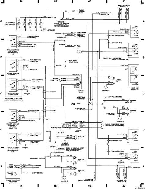 92 ford f150 wiring diagram 1992 ford f150 wiring diagram