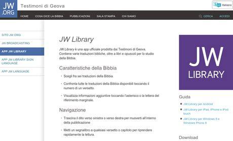 testimoni di geova credenze jw library per android si aggiorna alla versione 1 5 1