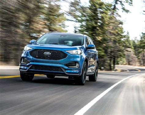 ford edge mpg ford edge st 2019 reviews mpg recalls limited new
