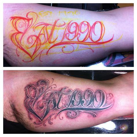 est 1992 tattoo designs est 1997 designs est 1983 design