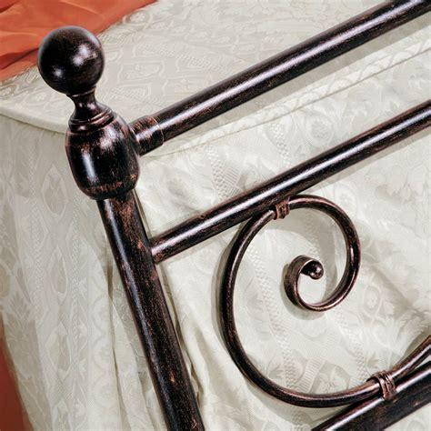 Handmade Wrought Iron - wrought iron bed classic design handmade in