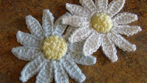 pattern crochet daisy crafts by starlight crochet daisy applique