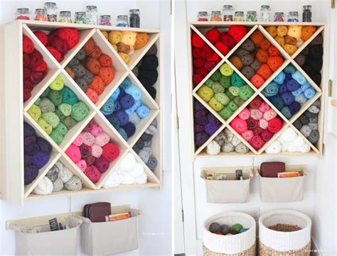 Yarn Shelf by Yarn Storage System Repeat Crafter Me