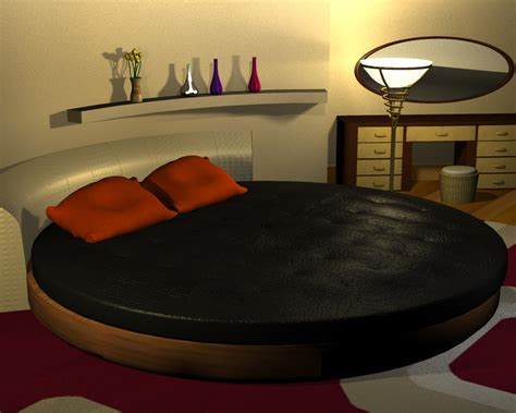 round bedroom round bedroom extended license 3d models extended
