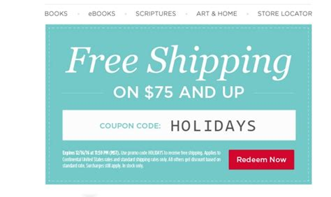 Free Shipping On Every Order 75 by 30 Deseret Book Company Coupon Code Save 20 W