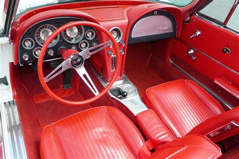 1963 Corvette Interior by 1963 Chevrolet Corvette Convertible 157595