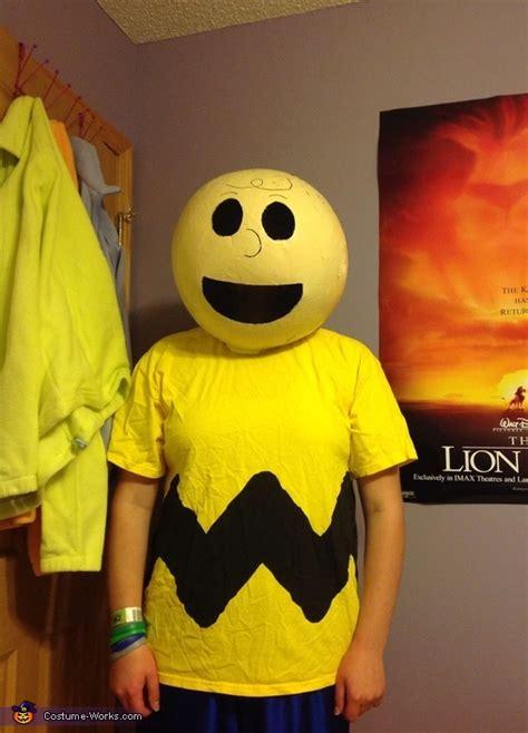 charlie brown diy halloween costume