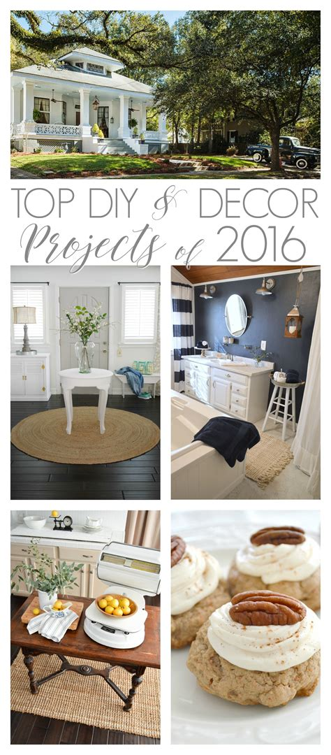 most popular diy projects 2016 top diy decor projects of 2016 fox hollow cottage