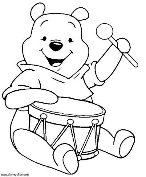 winnie pooh coloring pages games winnie the pooh coloring pages for kids coloring home