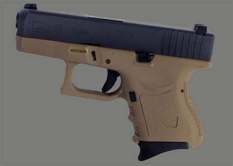 Airsoft Gun Glock 27 We Glock 27 Gbb Pistols At Airsoft Helper Airsoft Pistols News And We