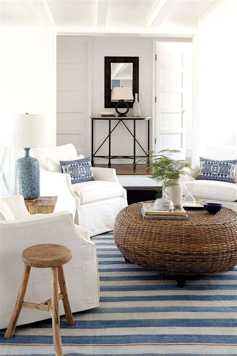coastal style 17 best ideas about striped rug on stripe rug