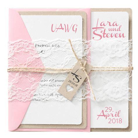Hochzeitskarten Einsteckkarten by Hochzeits Einladungskarten In Pink Rosa Farbt 246 Nen Alle