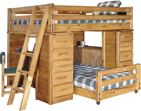 bunk bed with bed optimizing your bedroom s space with bunk beds