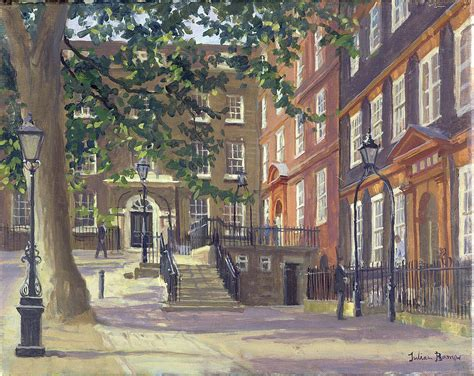 kings bench walk kings bench walk inner temple oil on canvas photograph by