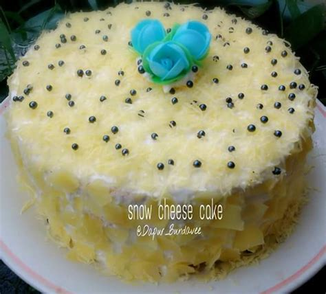 cara membuat cheese cake ulang tahun cara membuat resep snow cheese cake